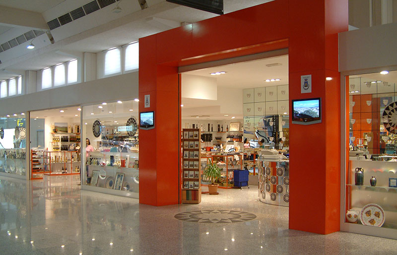 The Kara Sardegna shop in Olbia-Costa Smeralda Airport